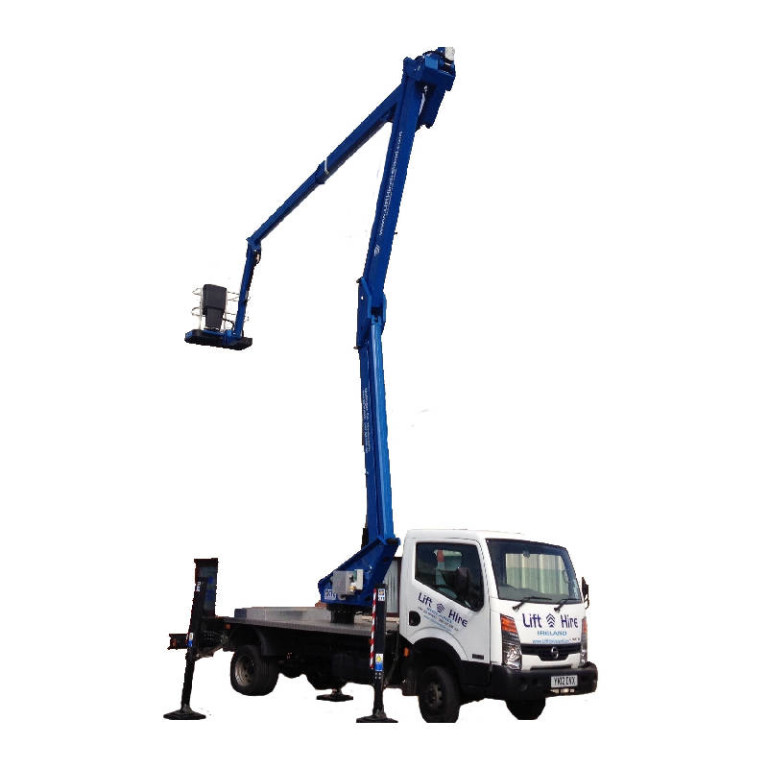 Van Mount with Operator
